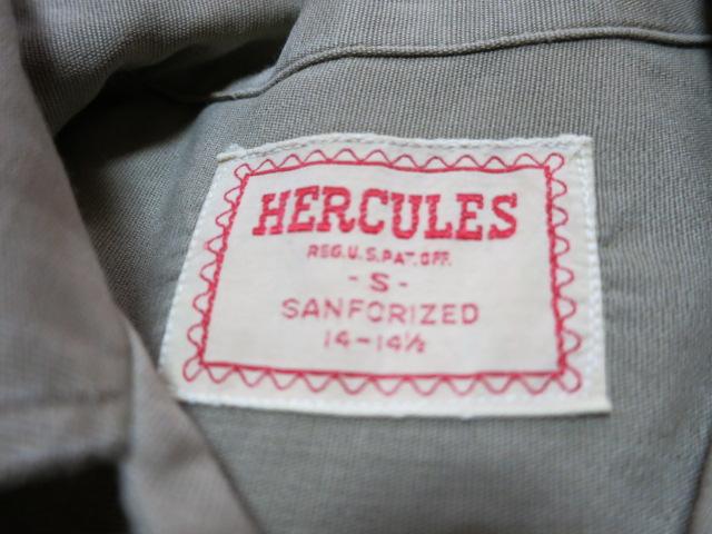 10/11(土)入荷!40'S~HECULESヘラクレス ワークシャツ!_c0144020_17351133.jpg