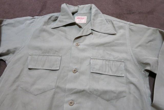 10/11(土)入荷!40'S~HECULESヘラクレス ワークシャツ!_c0144020_1735997.jpg