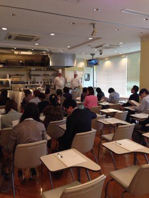 ル・コルドン・ブルー神戸校のカリスマシェフたちによる、素敵なイベント_f0215324_2054185.jpg