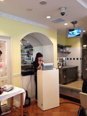 ル・コルドン・ブルー神戸校のカリスマシェフたちによる、素敵なイベント_f0215324_2054339.jpg