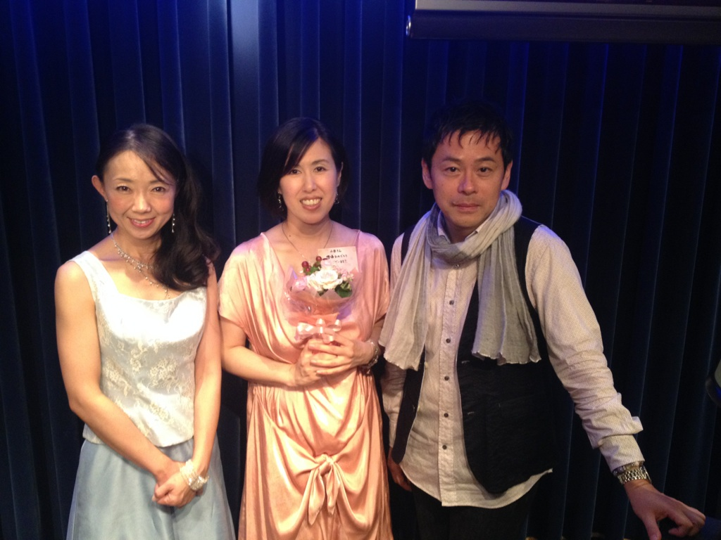 小田ちはるさんの復帰ライブ♪_f0165126_2158591.jpg