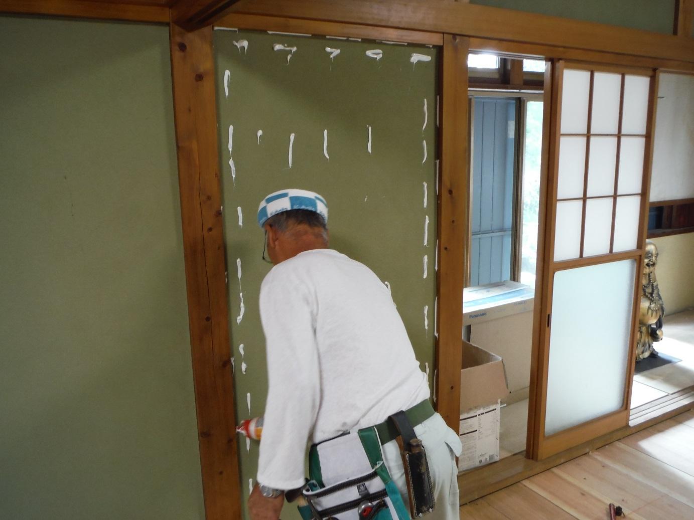 中古住宅リフォーム ~ 土壁の問題_d0165368_7101888.jpg
