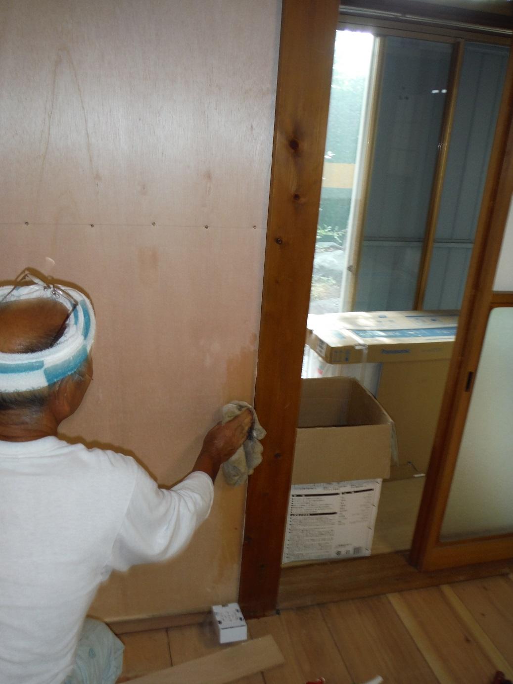 中古住宅リフォーム ~ 土壁の問題_d0165368_711873.jpg
