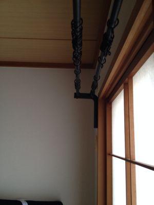 鍛鉄製カーテンレール_b0262124_1523525.jpg
