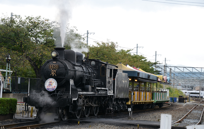 京都おすすめの観光スポット!梅小路蒸気機関車館_e0171573_19423983.jpg