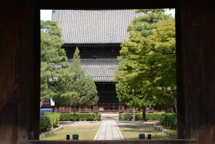 京都おすすめの観光スポット。堂内撮影OK!建仁寺_e0171573_2054460.jpg