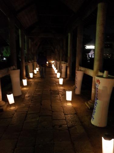 第3回 「毘沙門さま夜参りとほの灯り」 に行ってきました_c0336902_1191131.jpg