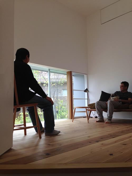yo house < 慰労会 と open house >_b0207676_2101685.jpg