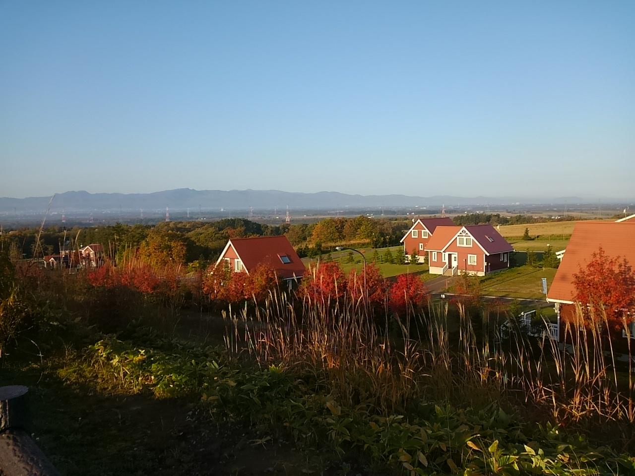 きれいな秋の朝です_b0219977_8324020.jpg
