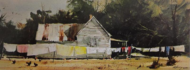 古きアメリカ南部を描く画家_c0340785_15284889.jpg