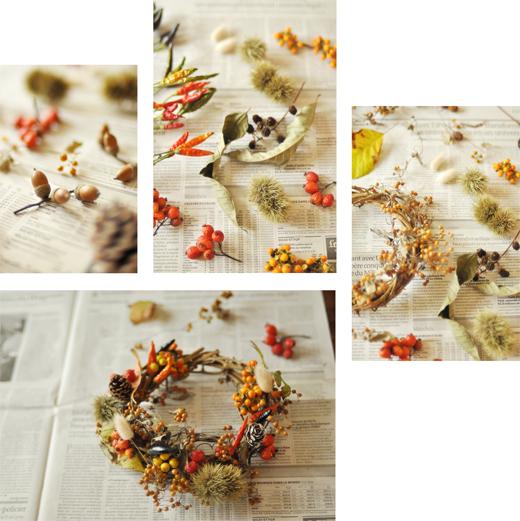 秋のリースと、感謝の日々と。_d0174704_21113754.jpg