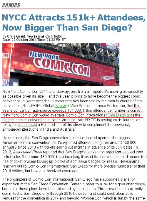史上最多集客となったNYコミコン2014、サンディエゴを抜いて北米最大のコミコンに!!!_b0007805_1149838.jpg