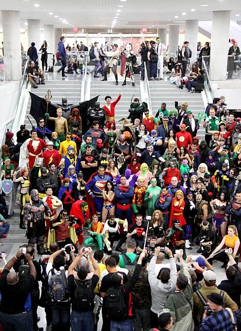 史上最多集客となったNYコミコン2014、サンディエゴを抜いて北米最大のコミコンに!!!_b0007805_11575933.jpg