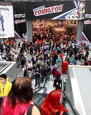 史上最多集客となったNYコミコン2014、サンディエゴを抜いて北米最大のコミコンに!!!_b0007805_1255242.jpg