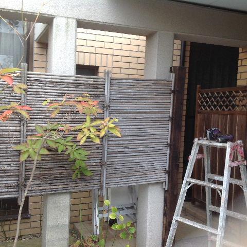 外構塗装 高圧洗浄_f0031037_1738219.jpg