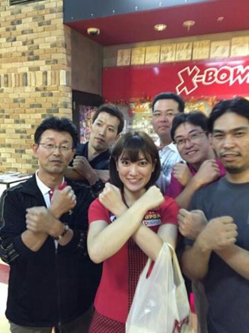 豊橋エックスボウルさんチャレンジ(*^^*)_b0259538_105985.jpg