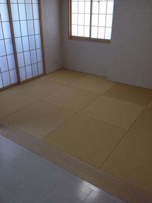 琉球畳8800円さいたま狭山市施工例&日記_b0142750_1351258.jpg