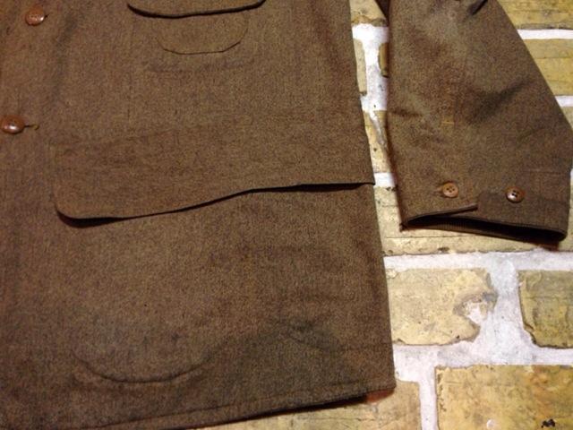 神戸店10/15(水)オマハ ヴィンテージ入荷!#4! 30\'s DryBack Salt&Peppar(Covert) Hunting JKT!!!(T.W.)_c0078587_20114987.jpg