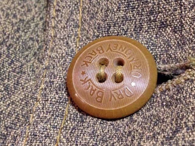 神戸店10/15(水)オマハ ヴィンテージ入荷!#4! 30\'s DryBack Salt&Peppar(Covert) Hunting JKT!!!(T.W.)_c0078587_2011699.jpg
