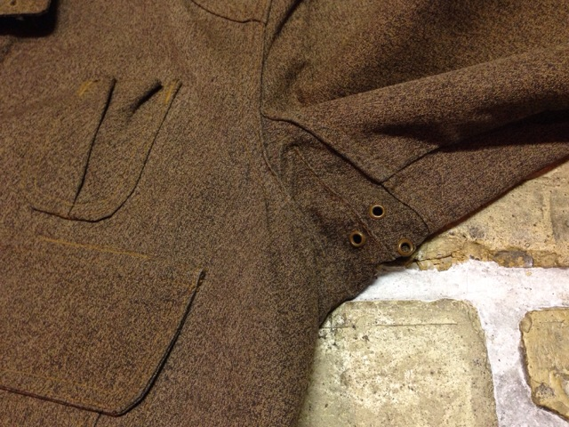 神戸店10/15(水)オマハ ヴィンテージ入荷!#4! 30\'s DryBack Salt&Peppar(Covert) Hunting JKT!!!(T.W.)_c0078587_20121283.jpg