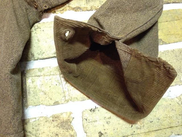 神戸店10/15(水)オマハ ヴィンテージ入荷!#4! 30\'s DryBack Salt&Peppar(Covert) Hunting JKT!!!(T.W.)_c0078587_2014780.jpg