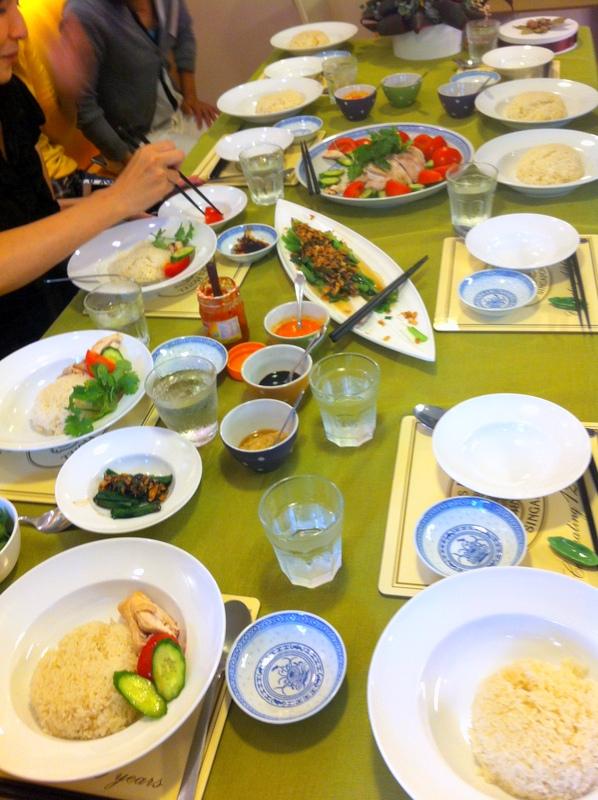 料理教室・・・海南チキンライス♪_f0141419_08304259.jpg