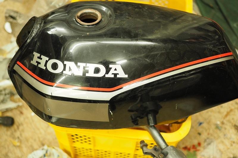 タンクの塗装・MBX50_a0257440_23283876.jpg