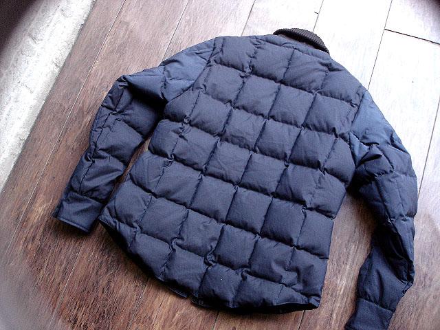 NEW : Crescent Down Works [Rib Collar Down Shirt] & [Rib Collar Quilting Down Shirt] 60/40 !!_a0132147_22232039.jpg