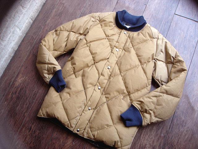 NEW : Crescent Down Works [Rib Collar Down Shirt] & [Rib Collar Quilting Down Shirt] 60/40 !!_a0132147_22234873.jpg