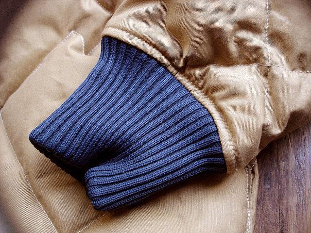 NEW : Crescent Down Works [Rib Collar Down Shirt] & [Rib Collar Quilting Down Shirt] 60/40 !!_a0132147_22238100.jpg