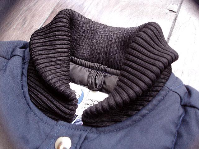 NEW : Crescent Down Works [Rib Collar Down Shirt] & [Rib Collar Quilting Down Shirt] 60/40 !!_a0132147_22243254.jpg