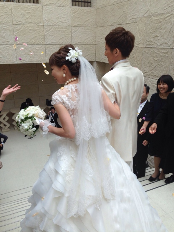 小澤くん Happy Wedding♪_b0161661_11464230.jpg