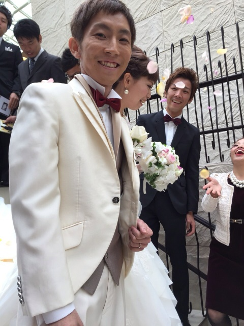 小澤くん Happy Wedding♪_b0161661_1147458.jpg
