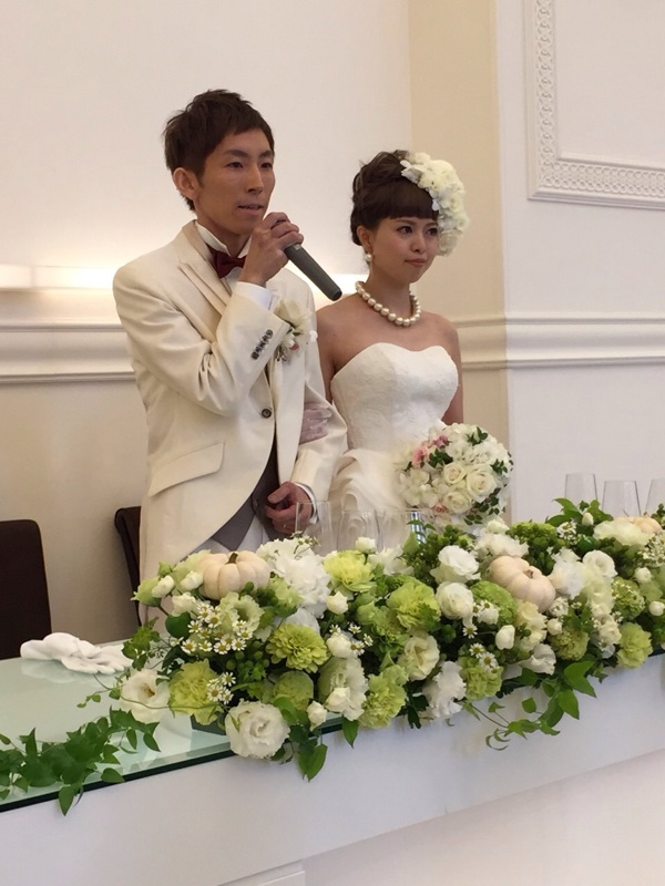 小澤くん Happy Wedding♪_b0161661_1148435.jpg