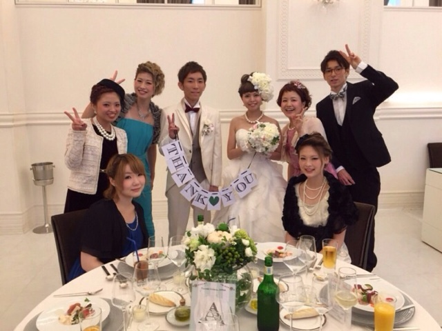 小澤くん Happy Wedding♪_b0161661_11501485.jpg