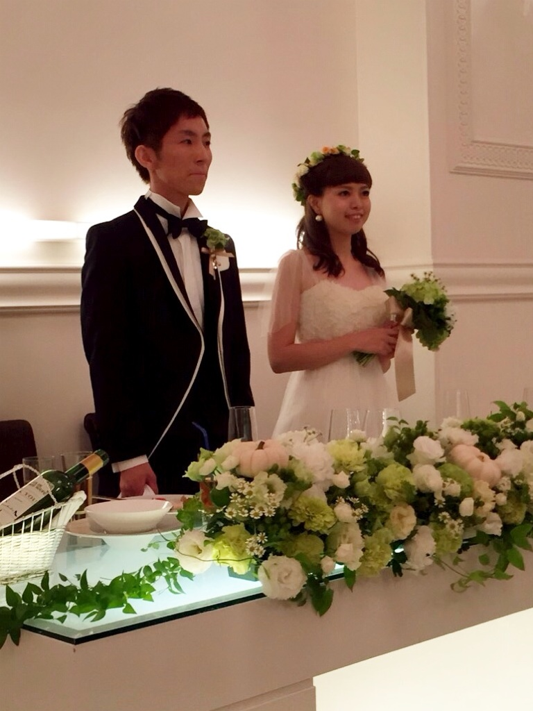 小澤くん Happy Wedding♪_b0161661_1151327.jpg