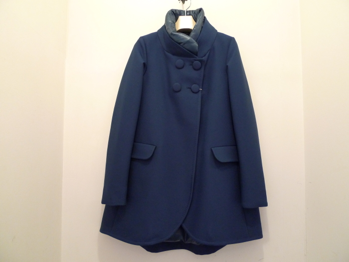 HERNO 4BUTTON A LINE DOWN COAT NAVY_f0111683_12442367.jpg