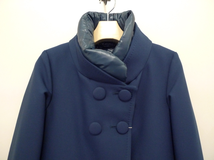 HERNO 4BUTTON A LINE DOWN COAT NAVY_f0111683_12452058.jpg