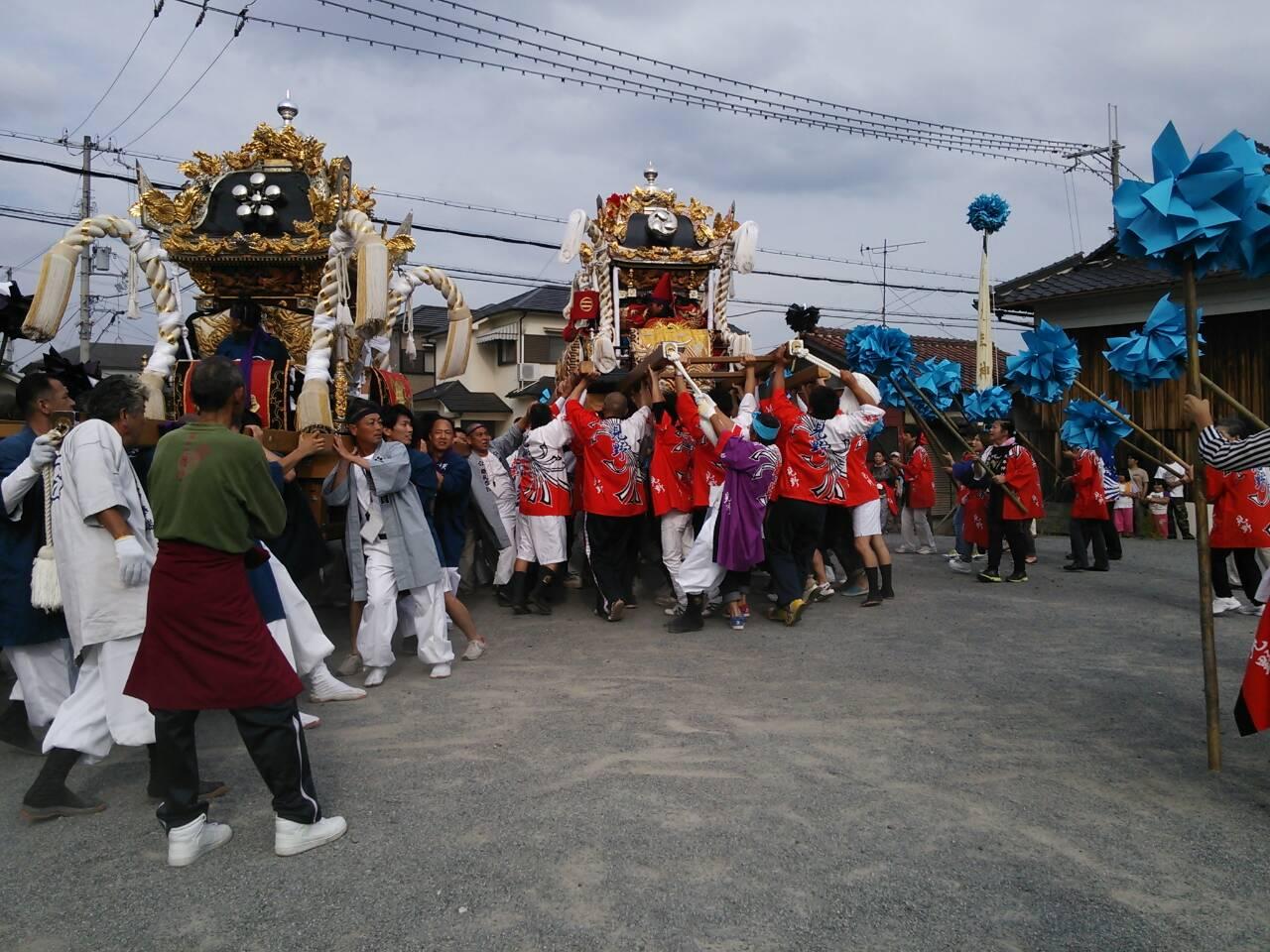 毎年恒例の姫路祭り!_e0326688_16395983.jpg