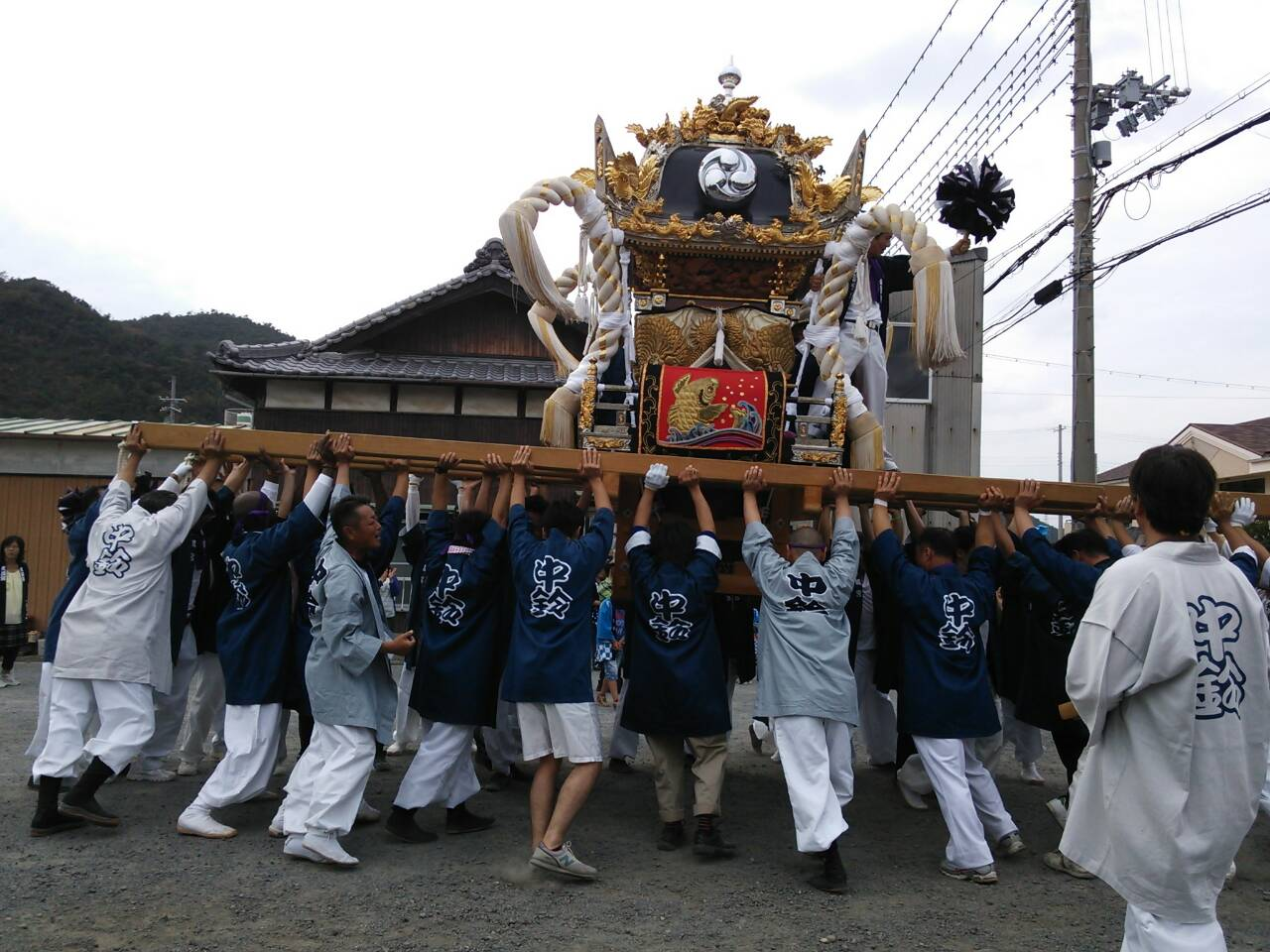 毎年恒例の姫路祭り!_e0326688_16404605.jpg