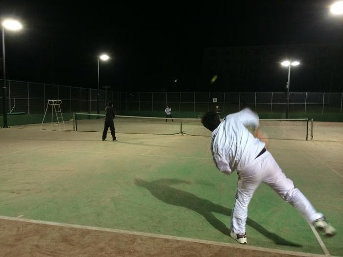 お久のナイターテニス_b0150120_1315345.jpg
