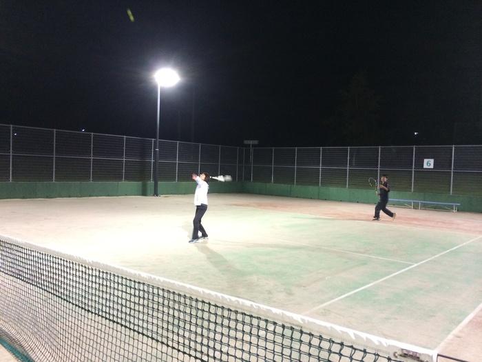 お久のナイターテニス_b0150120_13154567.jpg