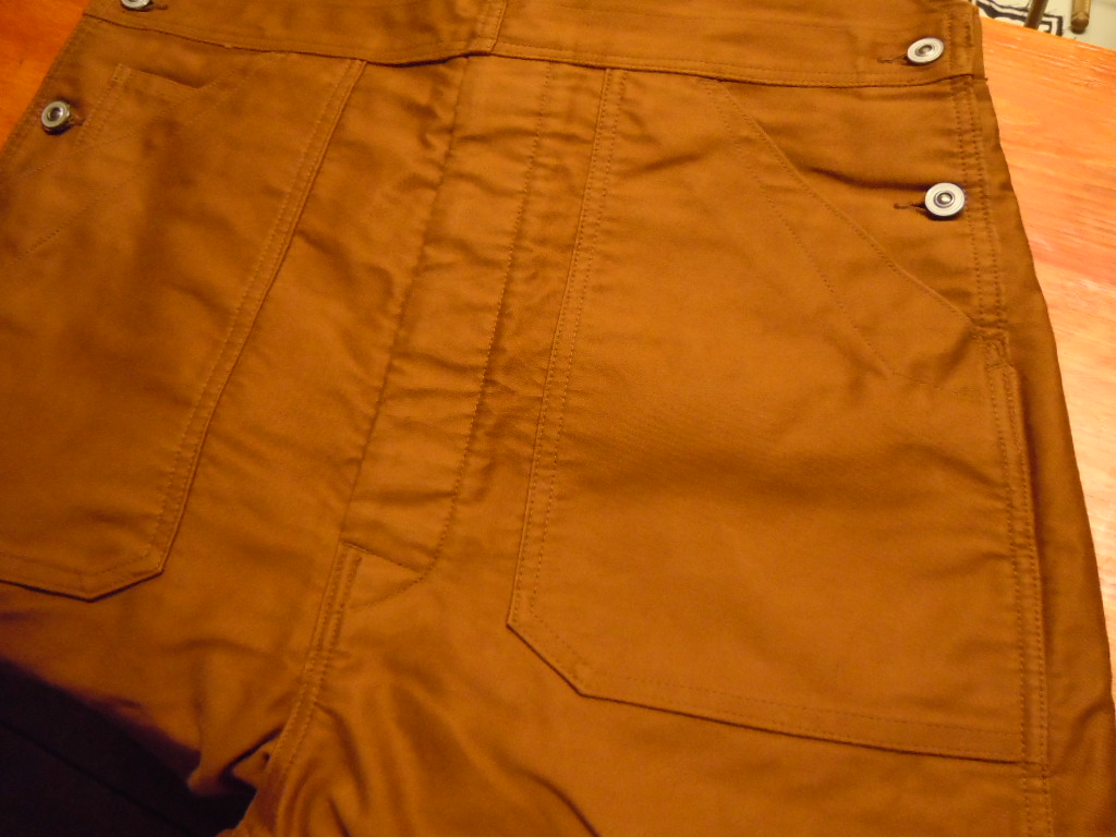 """DAPPER\'S \""""ENGINEER\'S STYLE OVERALLS TYPE LOW BACK\""""_b0278148_14293730.jpg"""