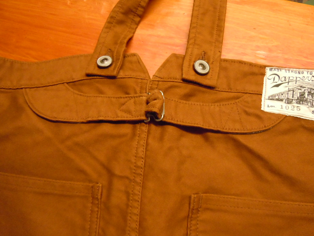 """DAPPER\'S \""""ENGINEER\'S STYLE OVERALLS TYPE LOW BACK\""""_b0278148_14305723.jpg"""