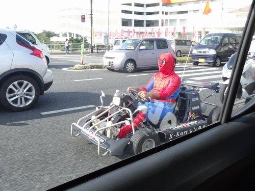 疾走!スパイダーマン_f0178416_22214829.jpg
