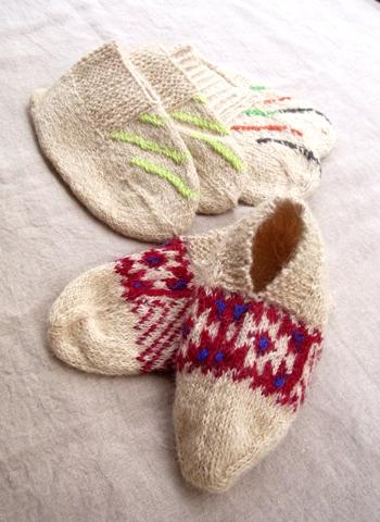 イランのおばあちゃんの手編み靴下2014_d0156336_8502031.jpg