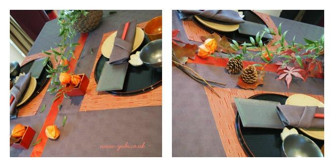 イギリスから「秋の和」テーブルコーディネートレッスン終了いたしました〜♪_b0313387_06033972.jpg