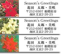 40%オフにクリスマスのラベル_d0225198_20481005.jpg