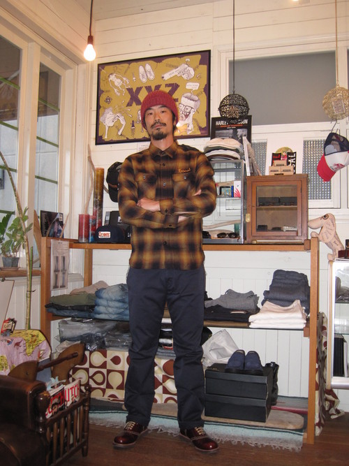 王道! CUT-RATE L/S HOMBRE CHECK SHIRT_c0140709_12285520.jpg