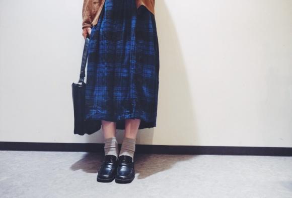 plaid skirt style_f0335217_12491619.jpg